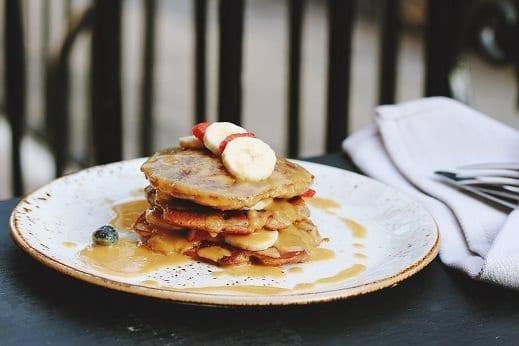 Pancakes del regno unito