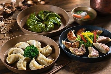 Piatti tipici Inghilterra ravioli cinesi