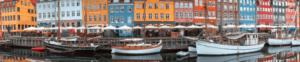 widok w zatoce w Danii