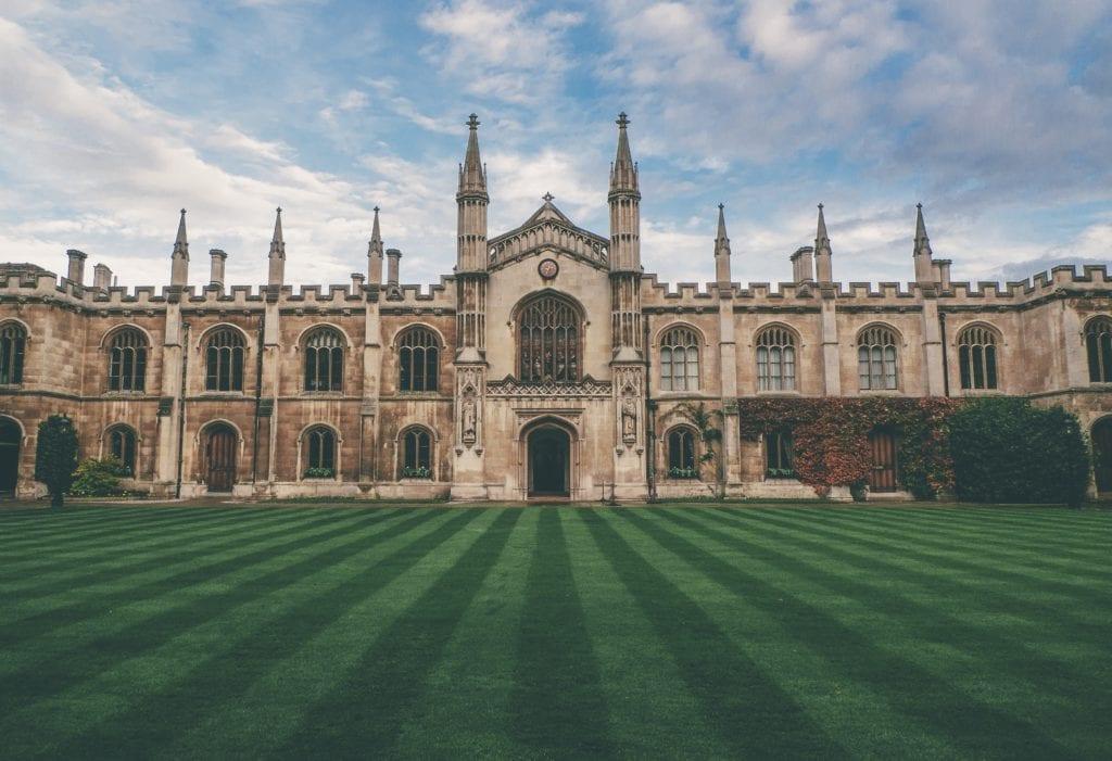 università estero cambridge uk