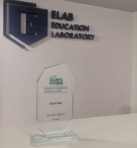 Miglior agenzia in Europa premio vinto da Elab