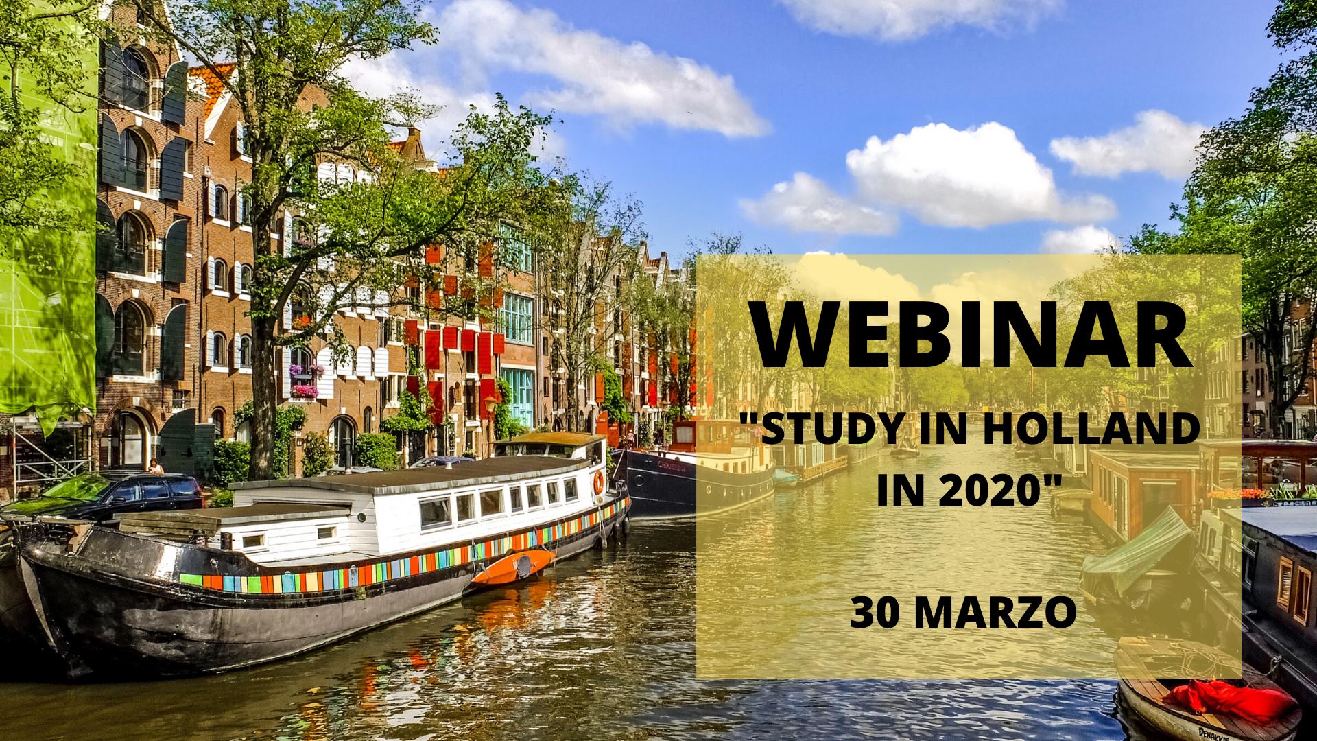 study in holland webinar
