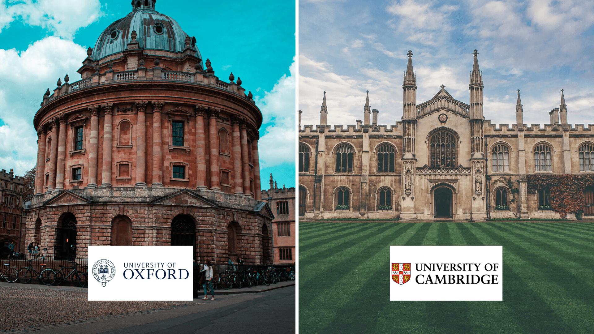 Oxford o Cambridge partecipa al Webinar il 4 giugno