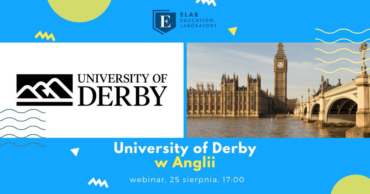 Spotkanie online z University of Derby w Anglii