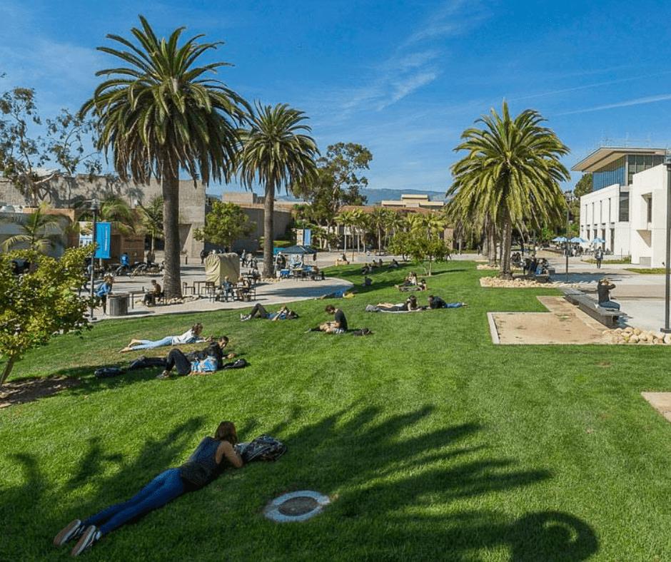 Study in California at UCSB; studiuj w Kalifornii