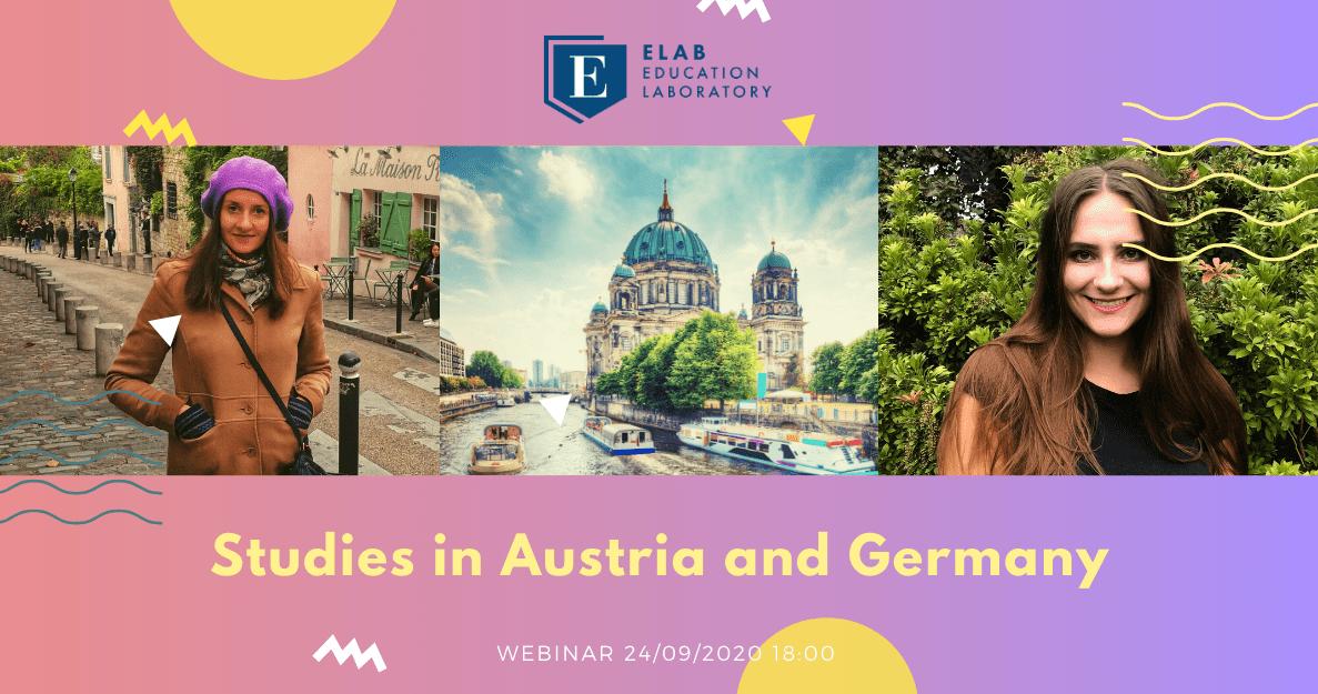 Study in Austria and Germany webinar