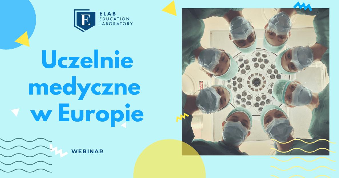 webinar uczelnie medyczne w Europie, Elab