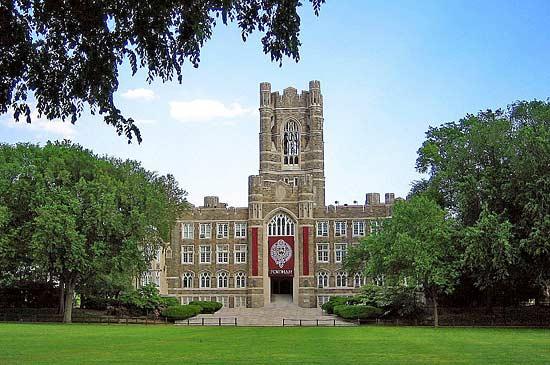 Fordham University w Nowym Jorku, Nowy Jork