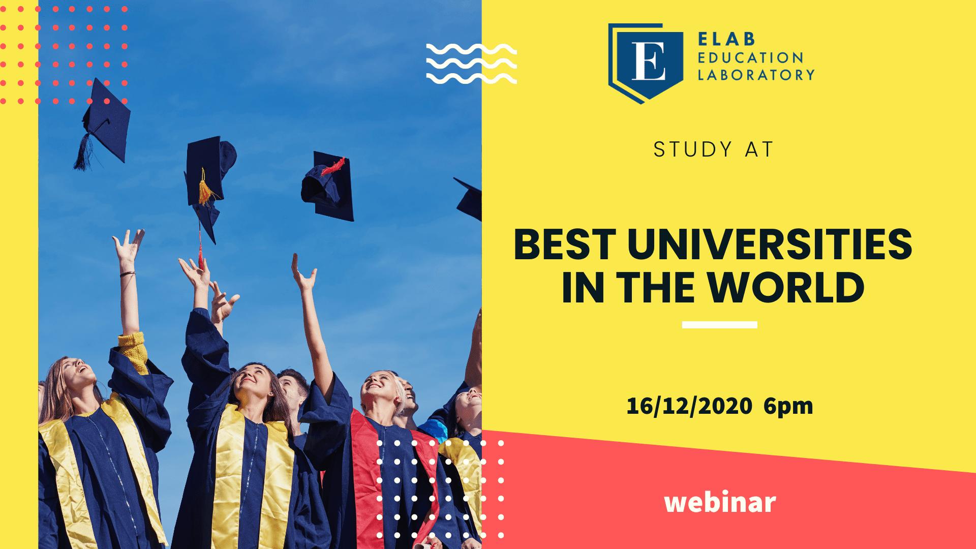 best universities webinar