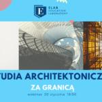 webinar studia architektura