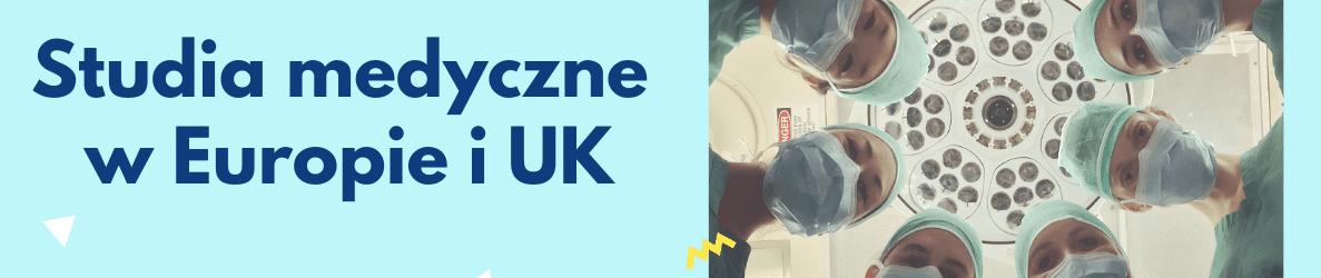 studia medyczne w Europie i UK