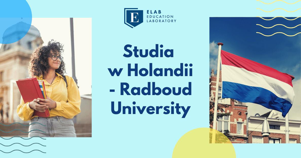 Studia w Holandii - Radboud University