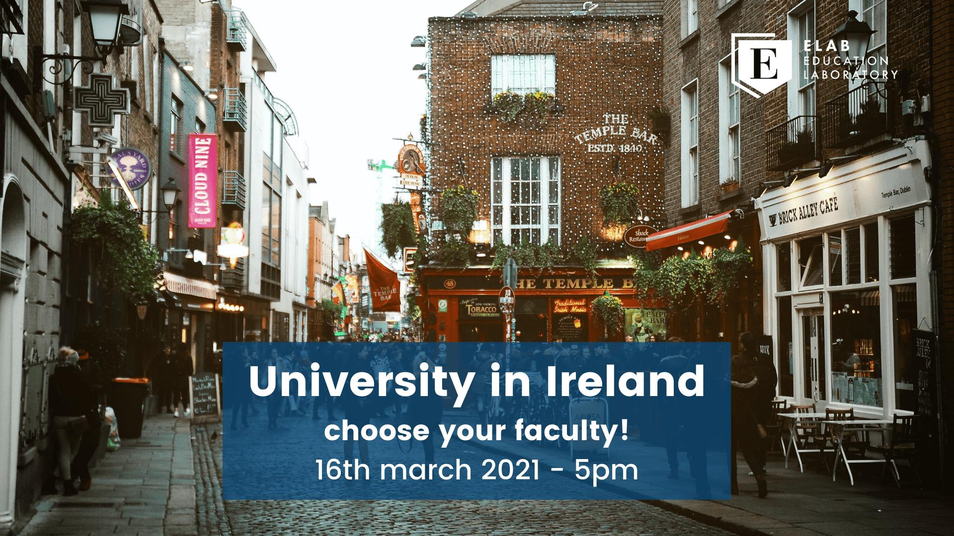 university in ireland europe
