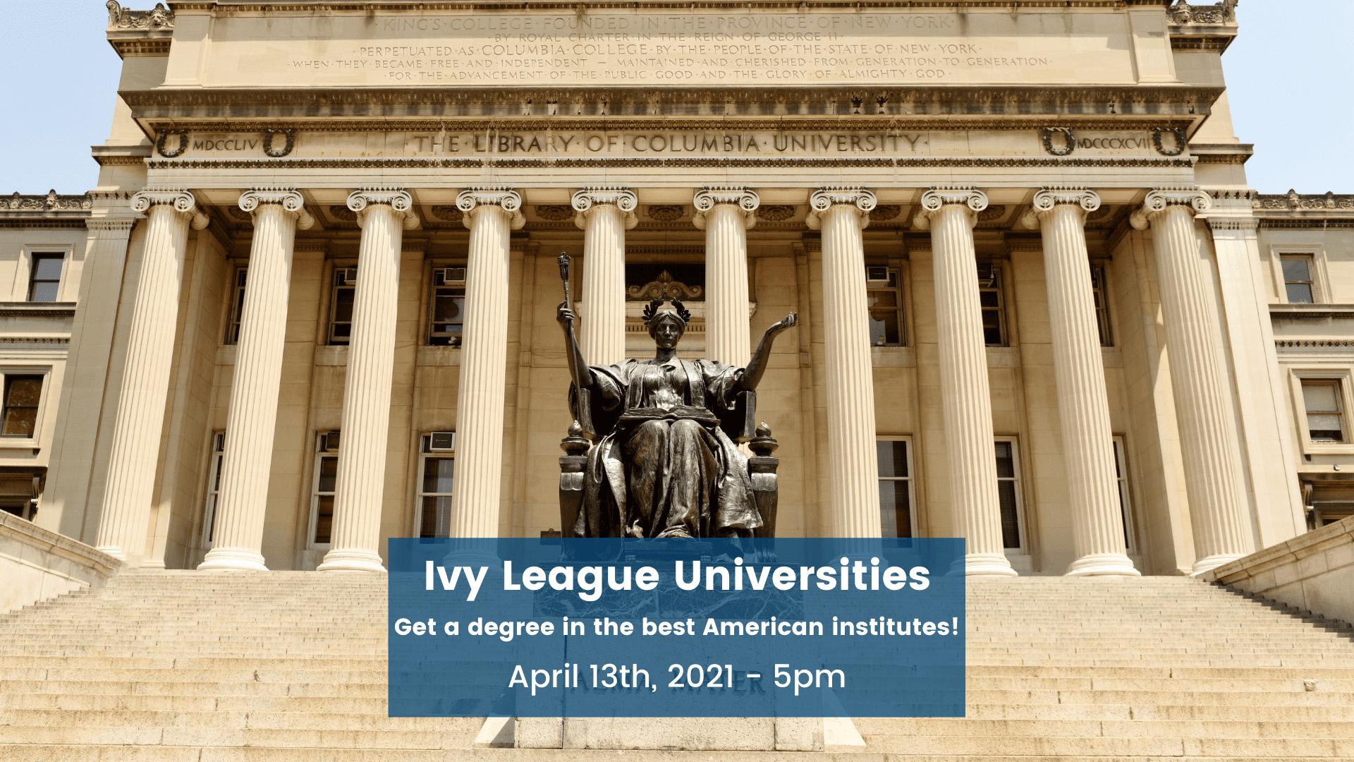 Ivy League Universities usa