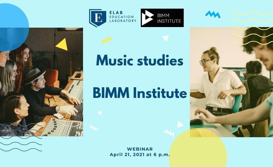 music studies at BIMM Institute