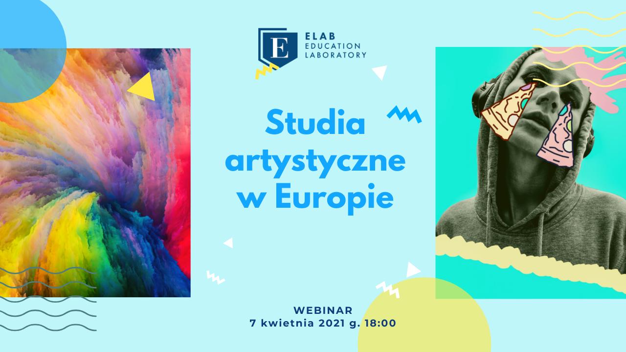 Studia artystyczne w Europie - webinar