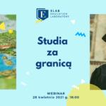 Webinar Studia za granicą