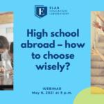 webinar high school abroad