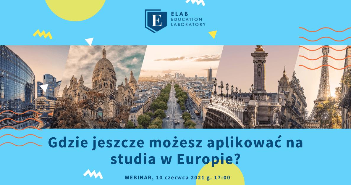 aplikacja studia w europie