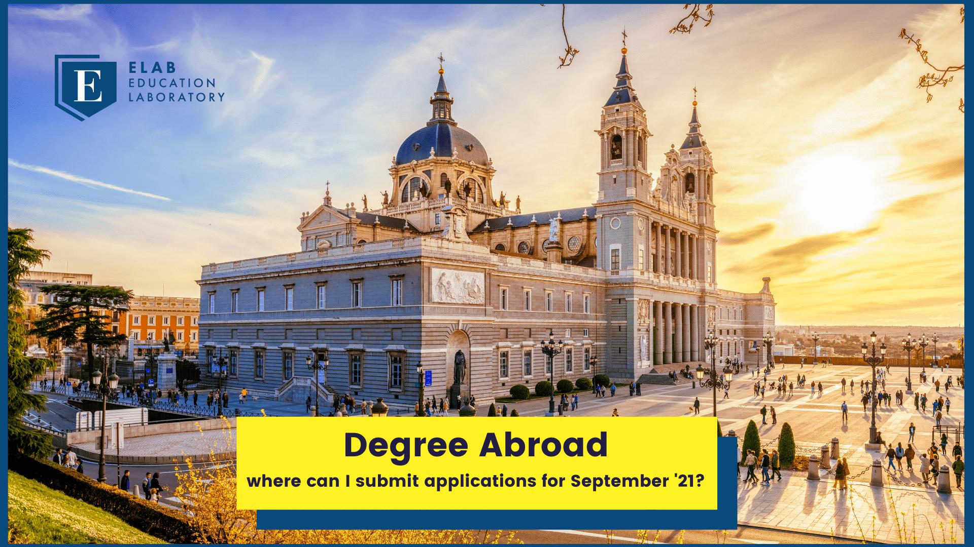 degree abroad university