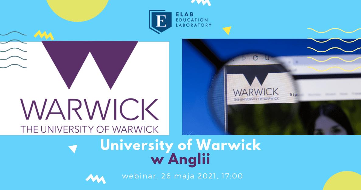 webinar university of warwick