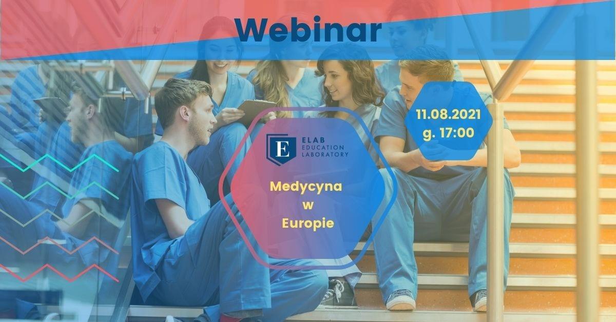 medycyna w Europie webinar