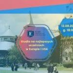 studia w Europie i USA - spotkanie w Warszawie